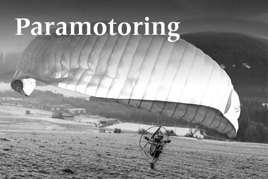 Paramotoring | Companion SQR & SQR Light