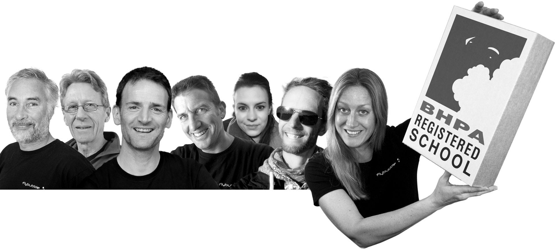 The Flybubble Crew