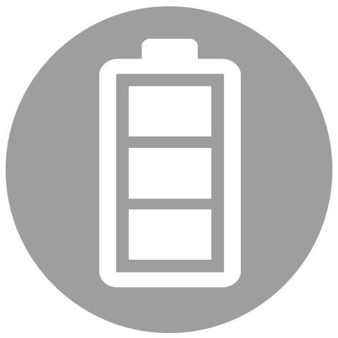 Internal Li-ion rechargeable battery