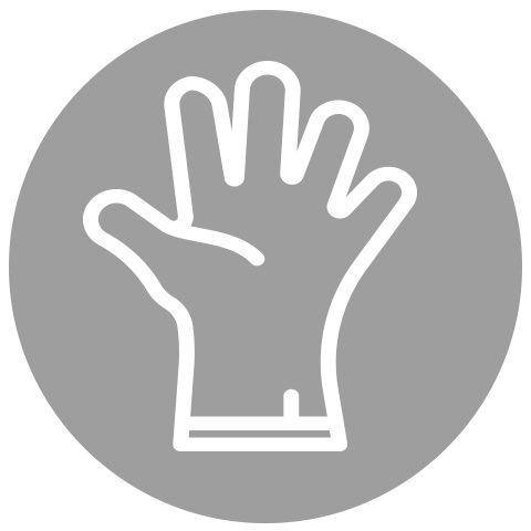 Glove-friendly keys