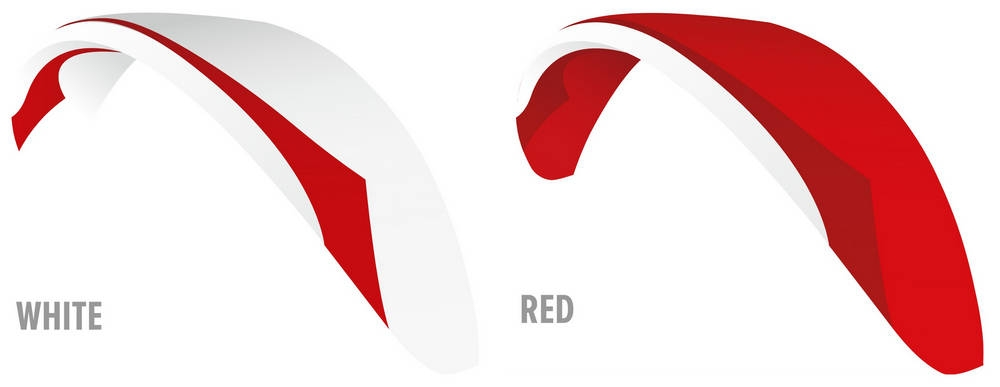 Colour options: White, Red