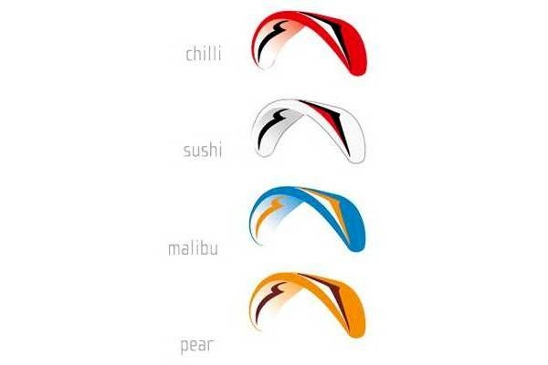 Standard colours: Chilli, Sushi, Malibu, Pear