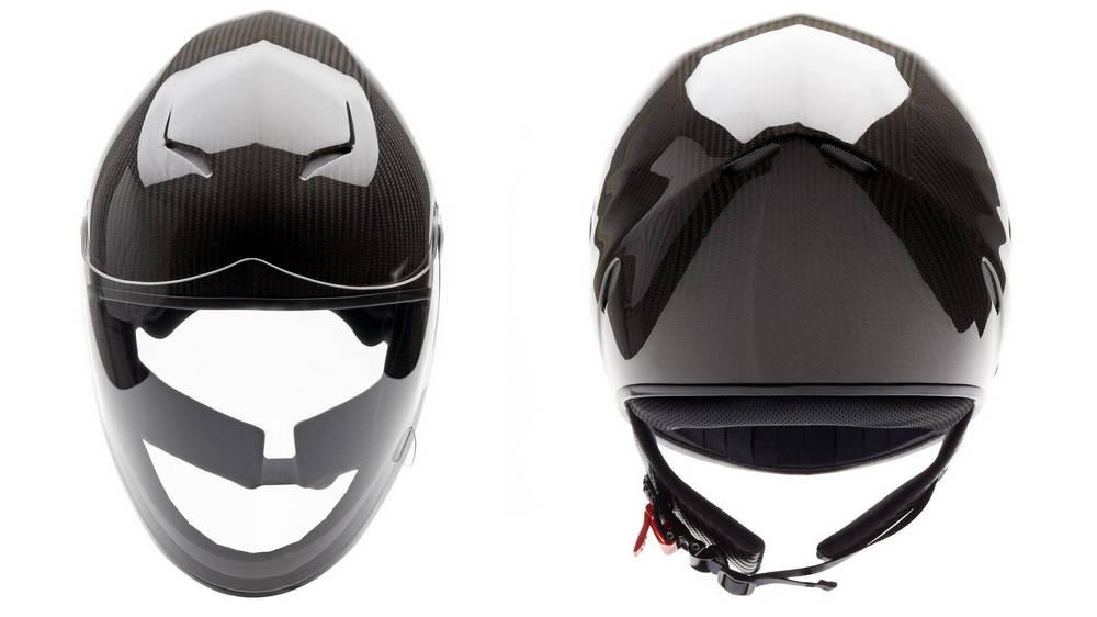 Icaro NeroHero Full Carbon airflow inside the helmet
