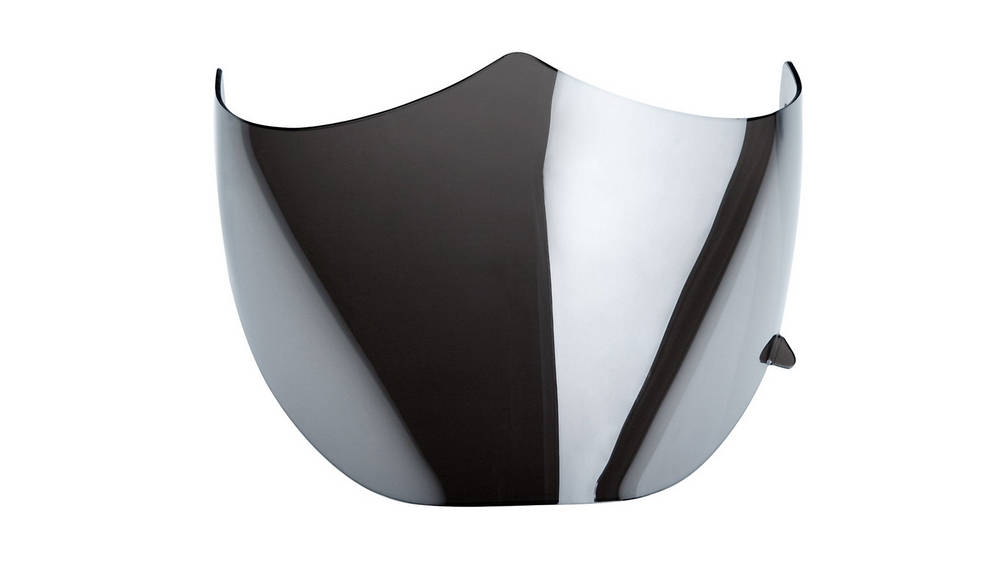 Icaro NeroHero visor (optional tinted visor shown)