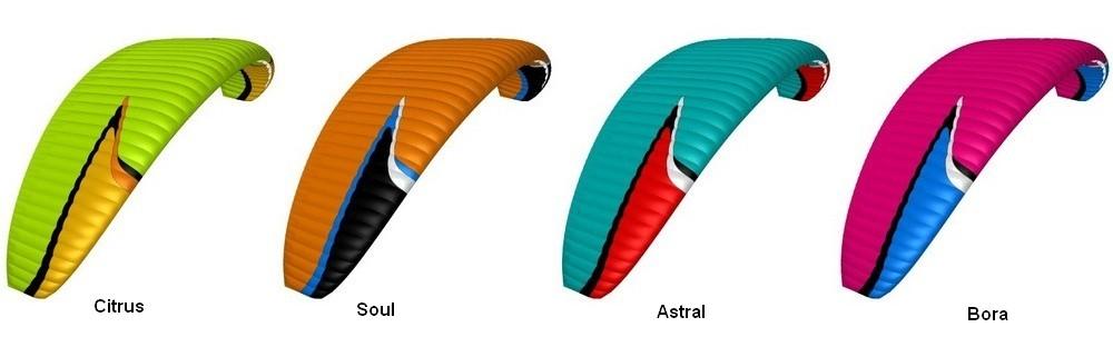 Niviuk Hook 5 Colours Citrus, Soul, Astral, Boral