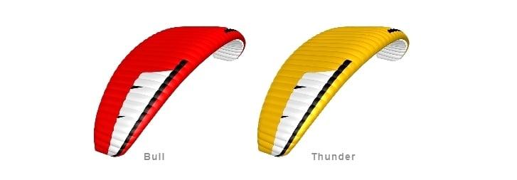 Niviuk Koyot 4P Colours Bull Thunder