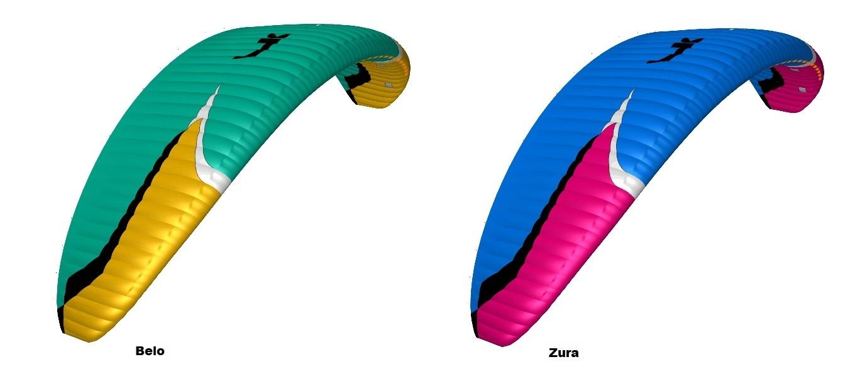 Niviuk N-Gravity 5 Colours, Belo and Zura