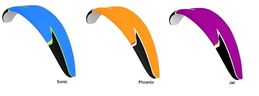 Standard Colours Peak: Sonic, Phoenix, Jet