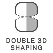 Double 3D Shaping