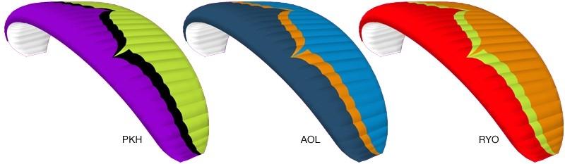 Ozone Spark 2 Standard Colours: PKH, AOL, RYO