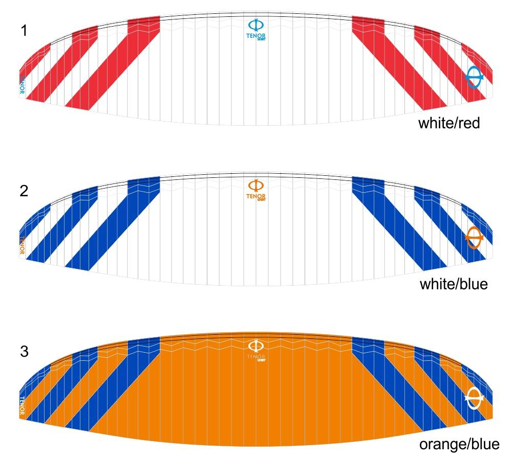 Standard colours: CC1 (White-Red), CC2 (White-Blue), CC3 (Orange-Blue)
