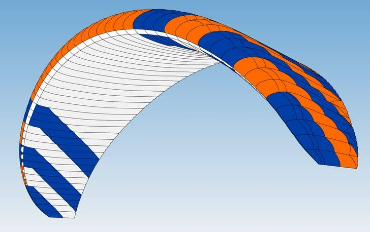 Standard colour: CC3 (Orange-Blue)
