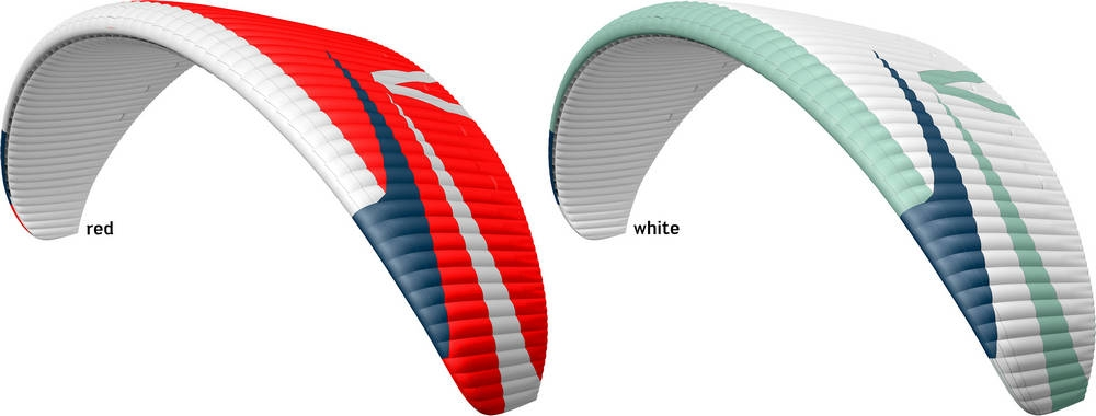 Skywalk SPICE2 colours: Red, White