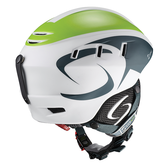 Supair Pilot paragliding helmet | Petrol-Green