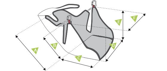 Supair Evo XC 3 measurements