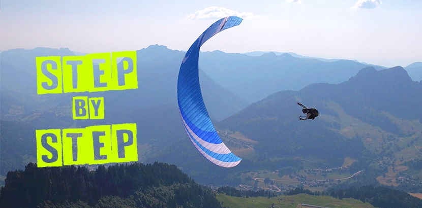 Our STEP is a performant B+ sport glider designed for cross country flying.