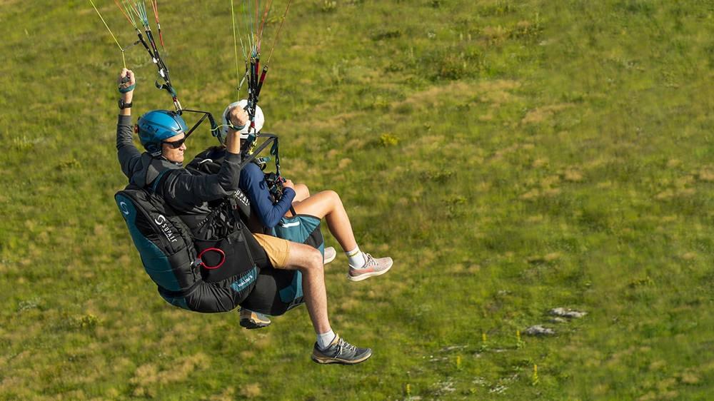Supair WALIBI 3 tandem paragliding pilot harness