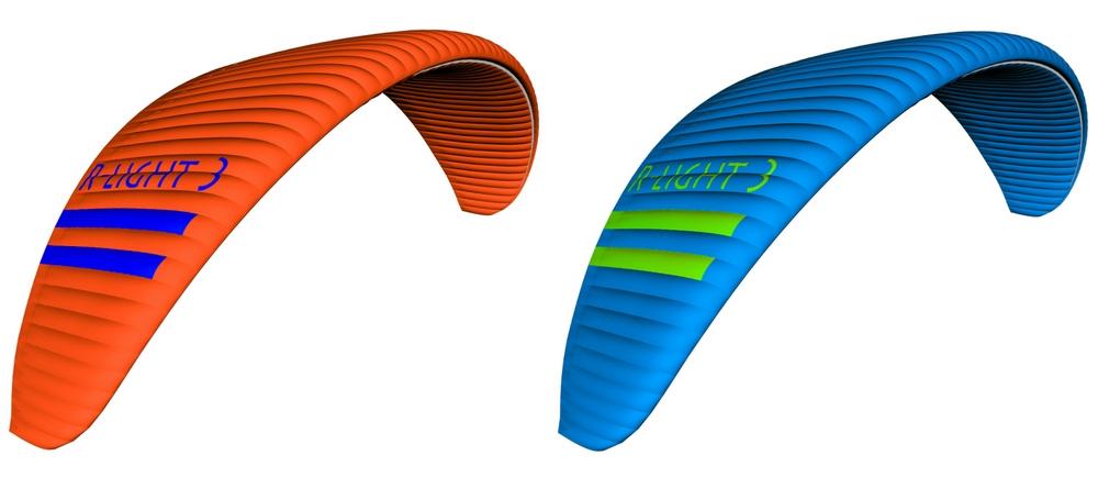 Triple Seven R-light 3 colours: Orange, Royal Blue
