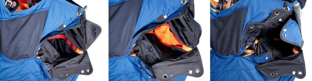 Wani 3 reserve parachute container
