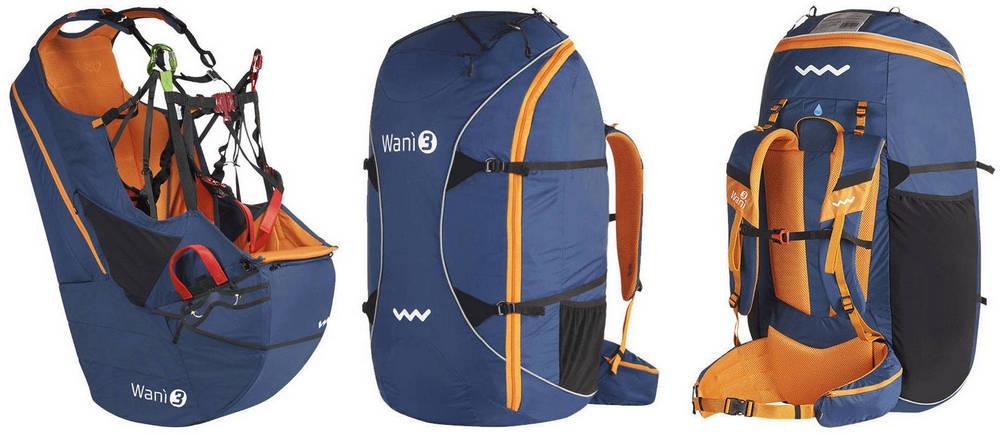 Blue-Orange colours - Woody Valley Wani 3