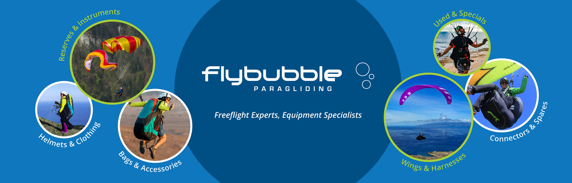 Flybubble Online Shop - Paragliding Freeflight Equipment Emporium