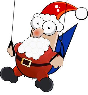 Santa Claus Paragliding