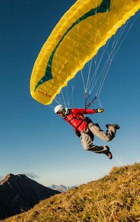 Trade in your paraglider and get great deals on new paragliding equipment
