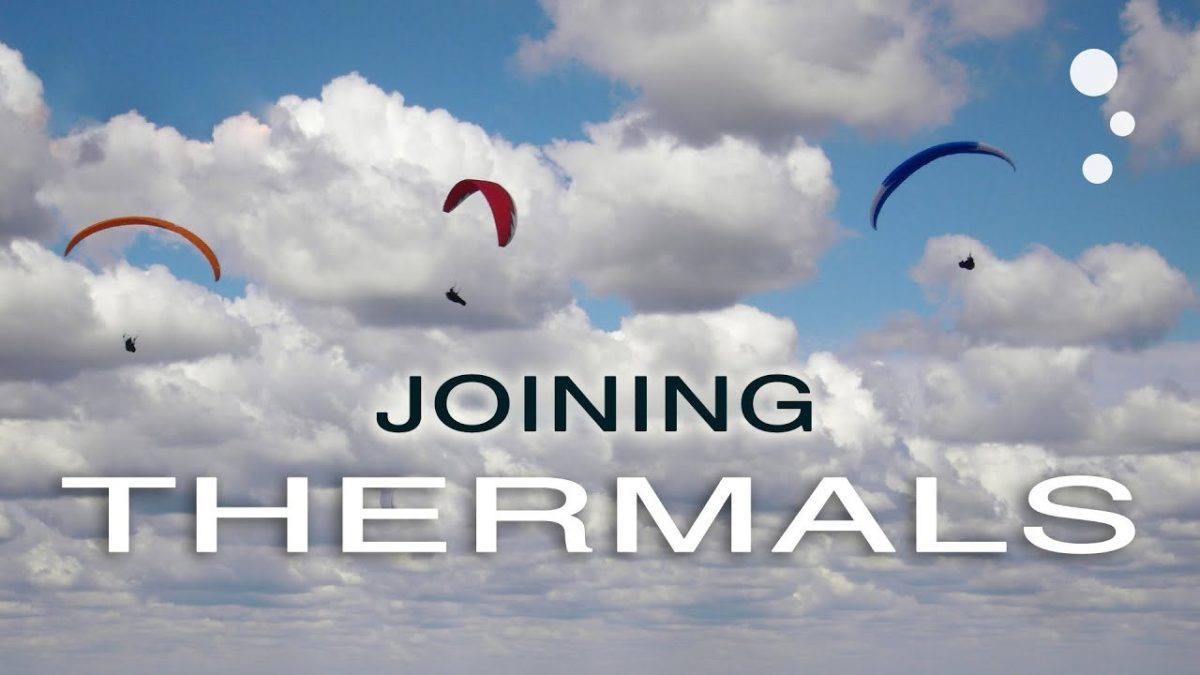 Paragliding XC Secrets How to join a thermal with others