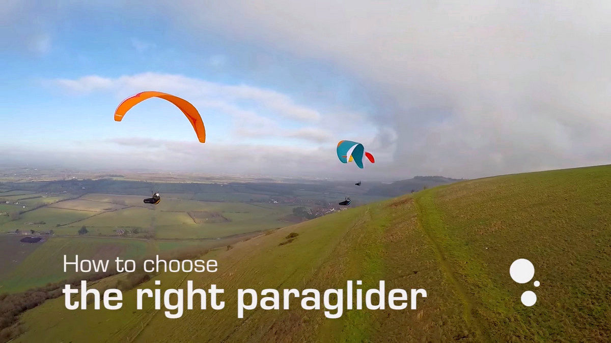 How To Choose The Right Paraglider
