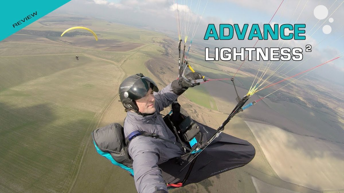 Advance LIGHTNESS 2 paragliding harness reviews by Flybubble