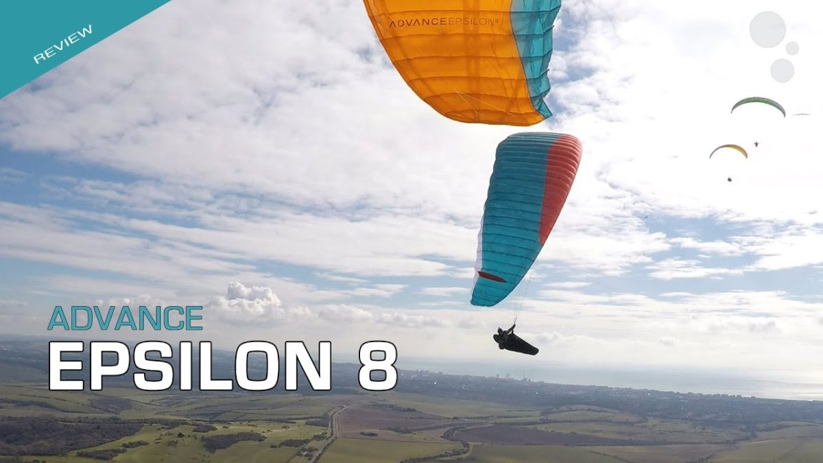Advance EPSILON 8 paraglider review by Flybubble Paragliding