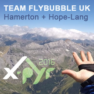 XPYR 2016 Flybubble Team race report