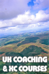 Flybubble Paragliding UK Pilot Coaching and XC Courses