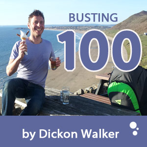 Busting 100km on a Paraglider (by Dickon Walker)