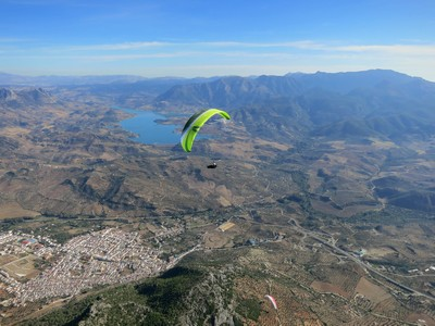 Flybubble Spain trips October 2013 report Nancy Skywalk CHILI3
