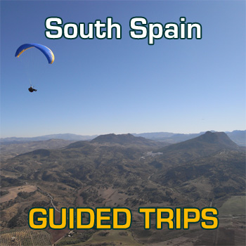 Flybubble Spain Guided Paragliding Trips 31st August to 7th December 2013