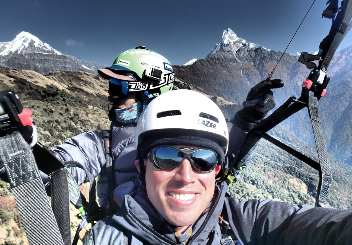 Paragliding in Nepal: Tandem flying