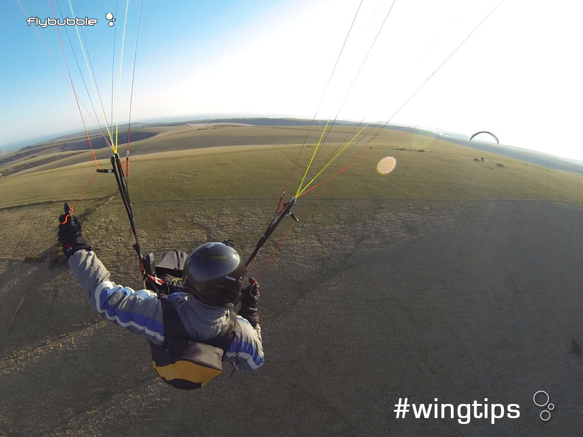 Wingtips: downwind devil
