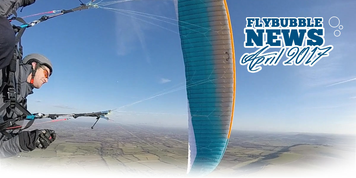 Flybubble News April 2017