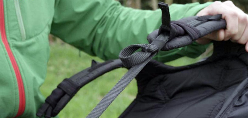 Paragliding harness adjustment