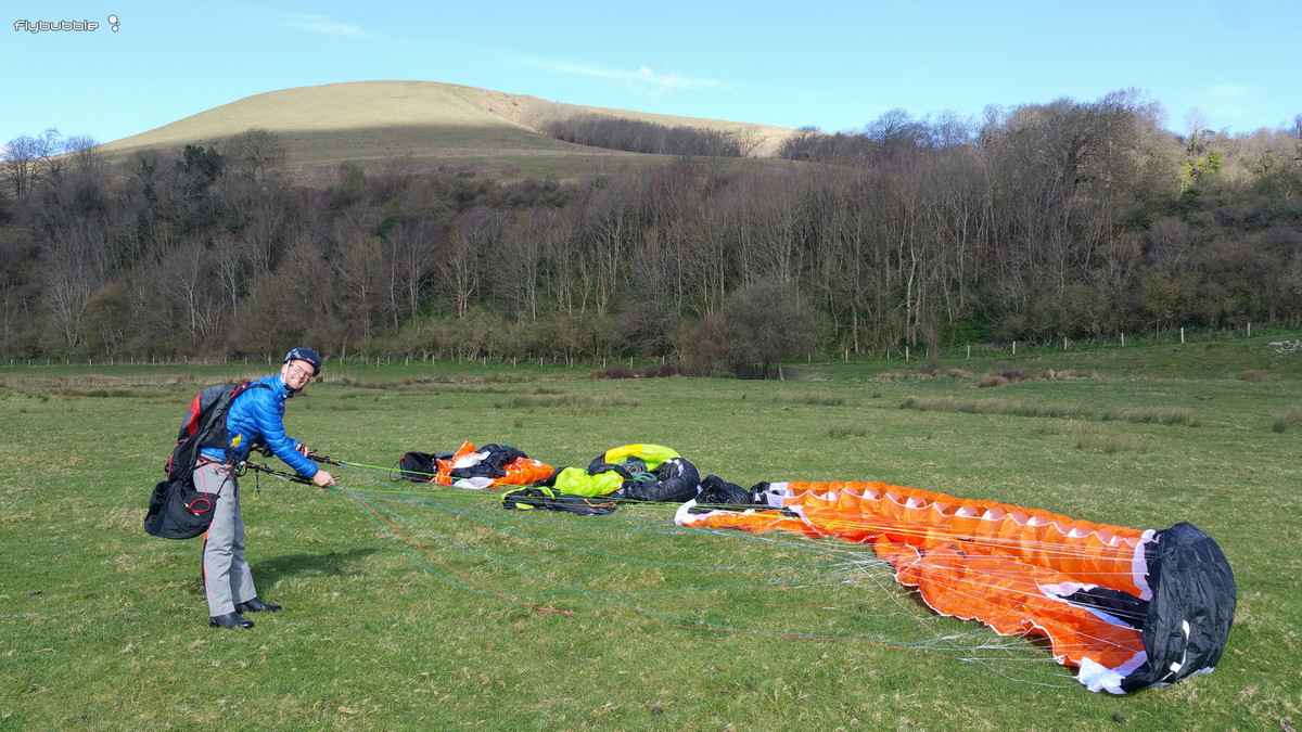 Paragliding Skills Improve Your Ground Handling - Flybubble