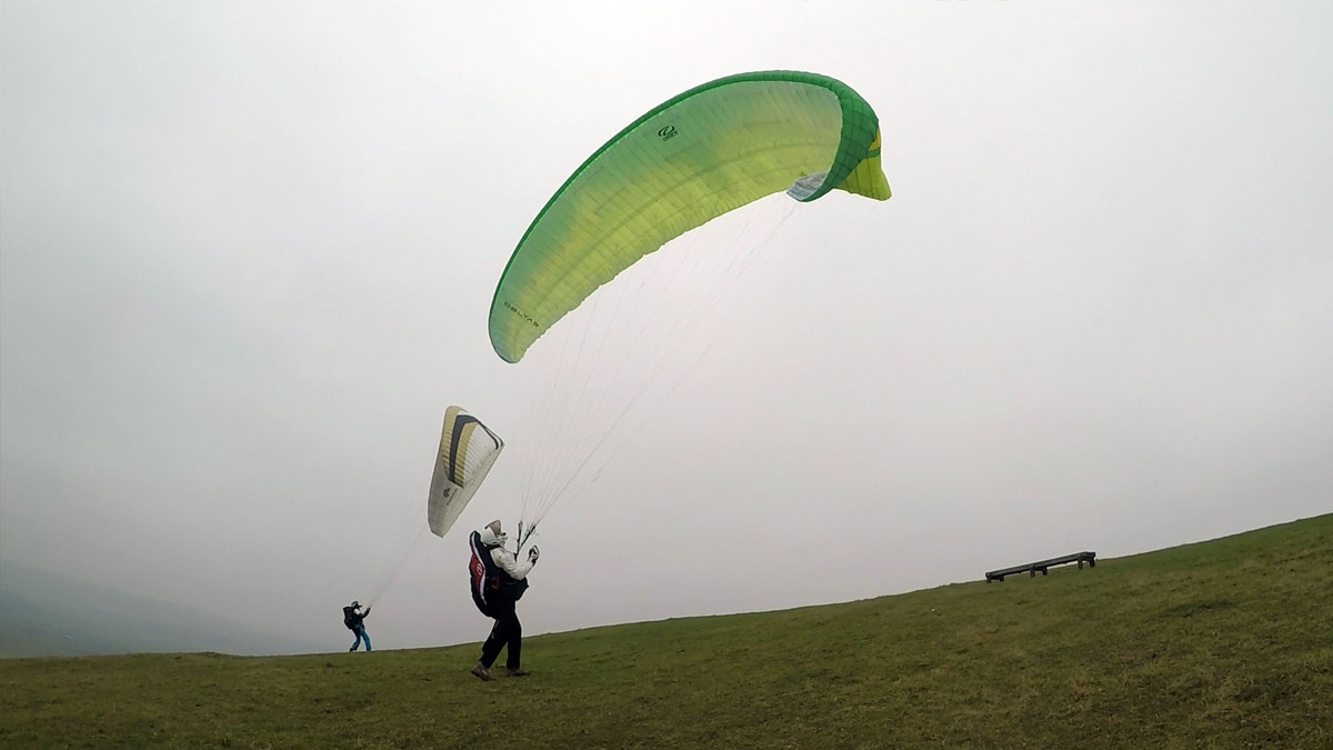 Paragliding Safety: ground handle