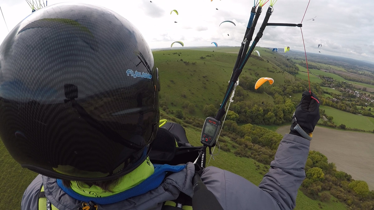 Paragliding Safety: traffic