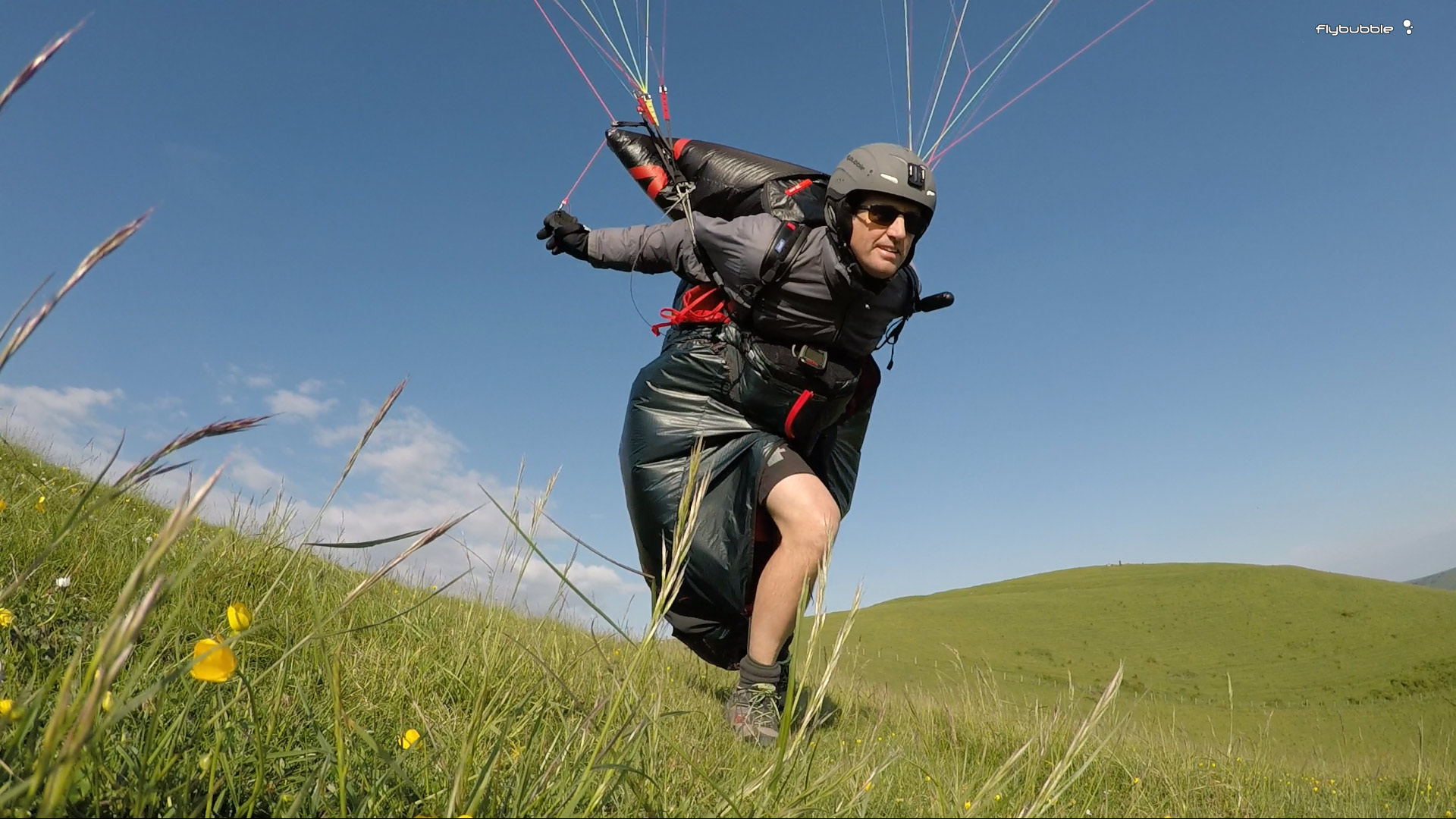 Skywalk RANGE XALPS 2 Review: launching