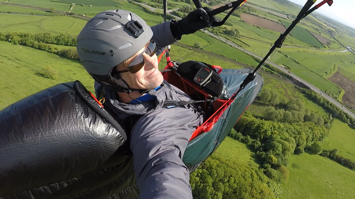 Skywalk RANGE XALPS 2 Review: gliding