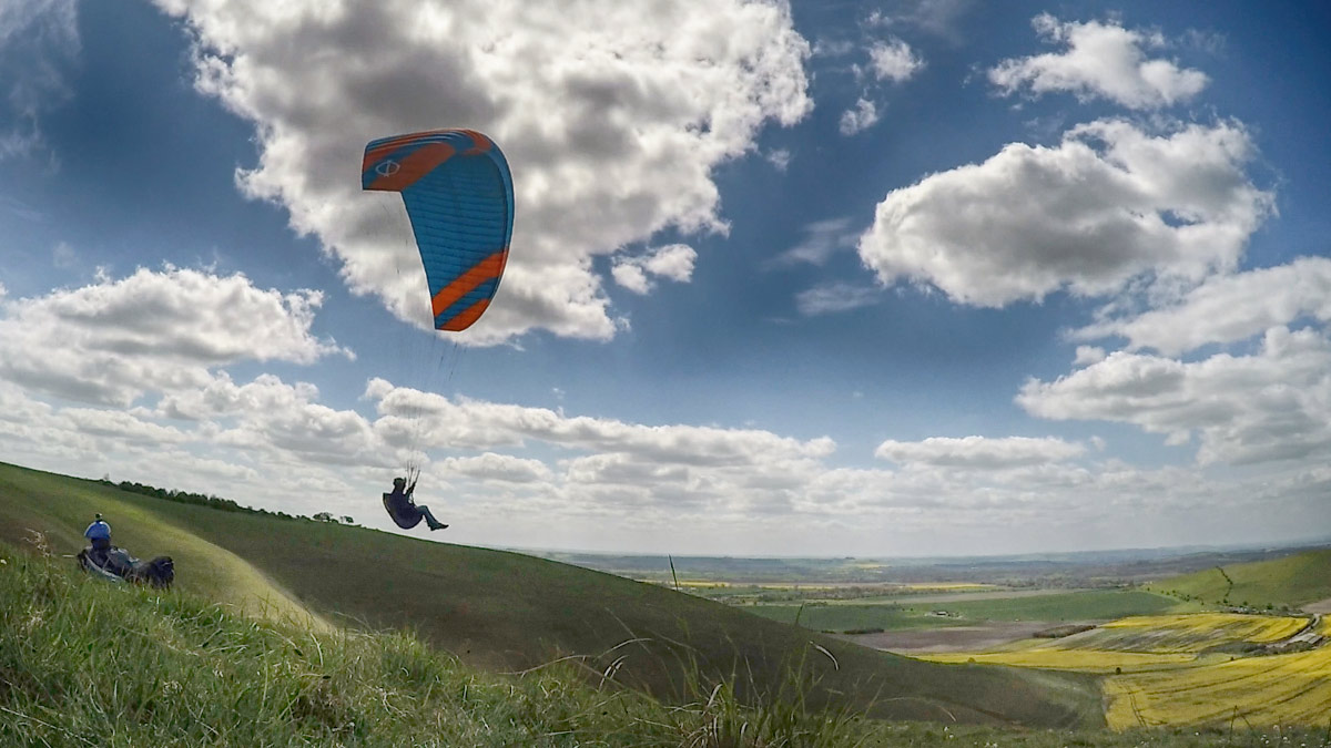 Phi SONATA paraglider review: fly by