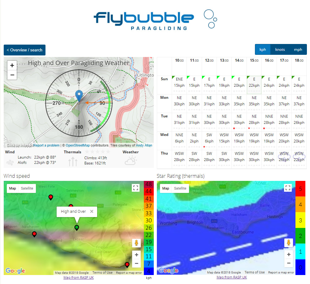 Flybubble Weather: site details