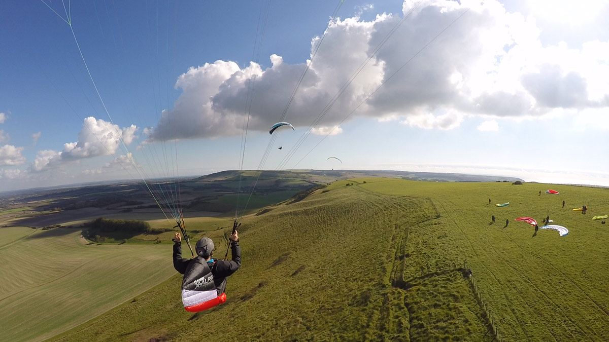 Paragliding with a video camera (best gear) - Flybubble Blog