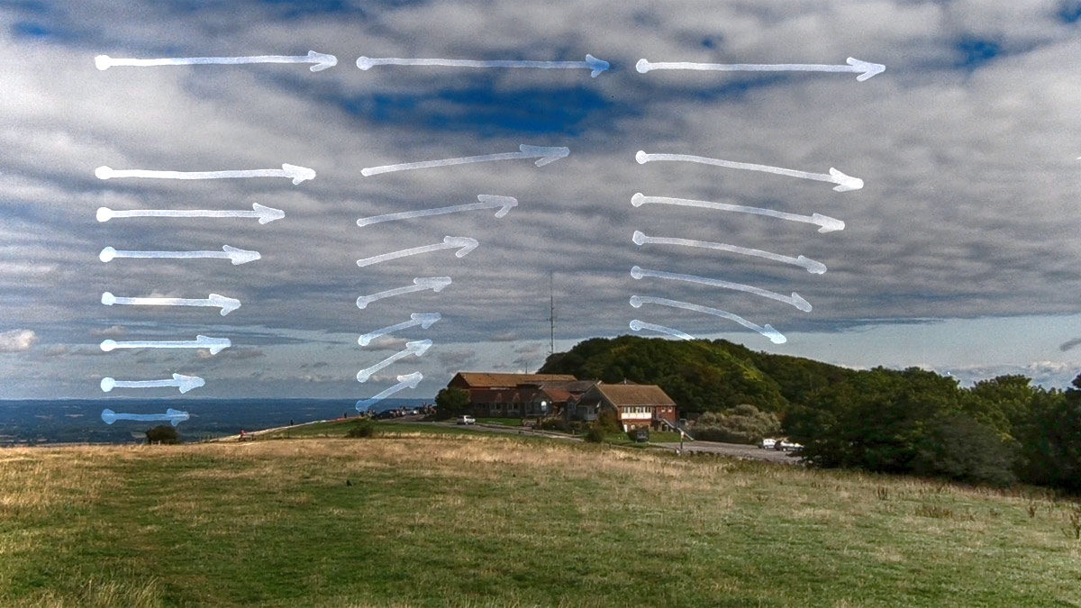 Flying site analysis: Devil's Dyke