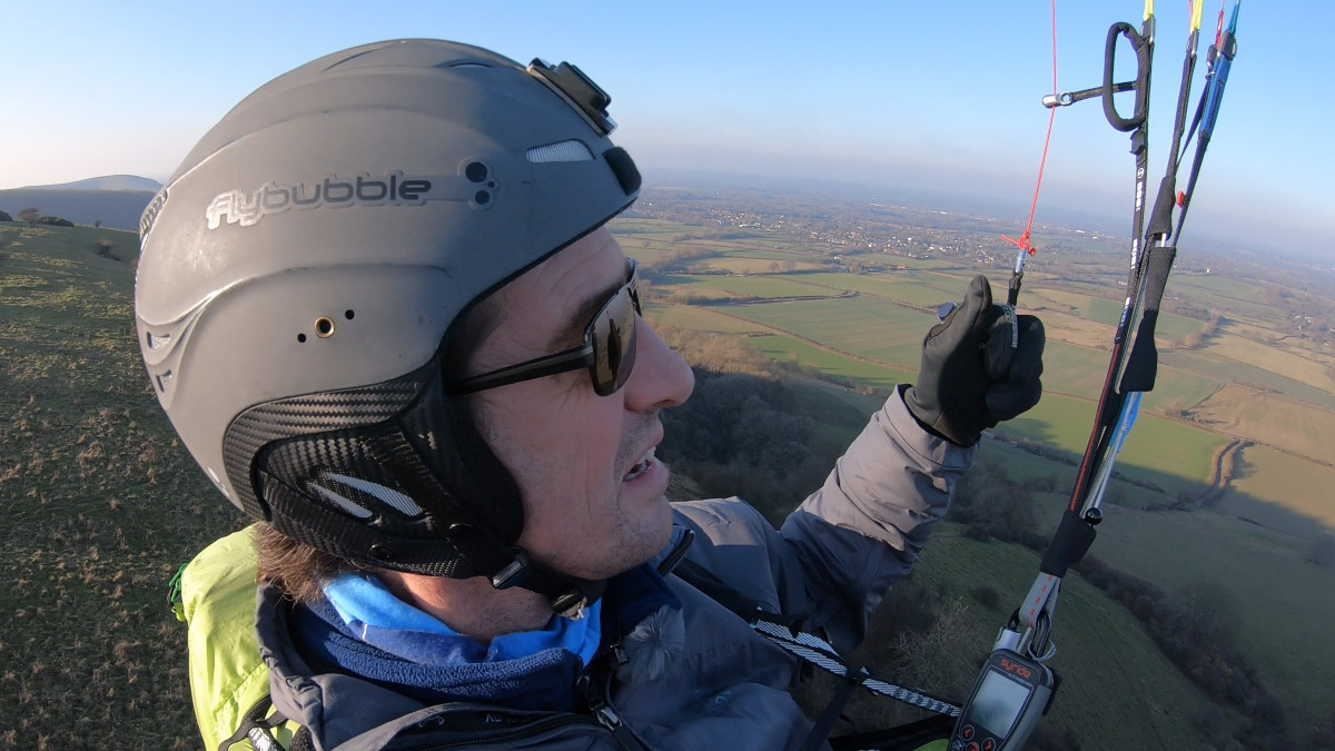 Paragliding in light lift: using your vario
